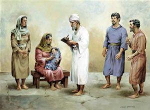 施洗约翰的父亲撒迦利亚