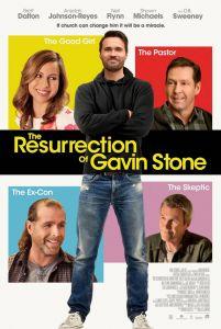 《盖文·斯通复活》电影海报